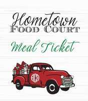 2019 A Christmas Affair - Hometown Food Court Meal Ticket